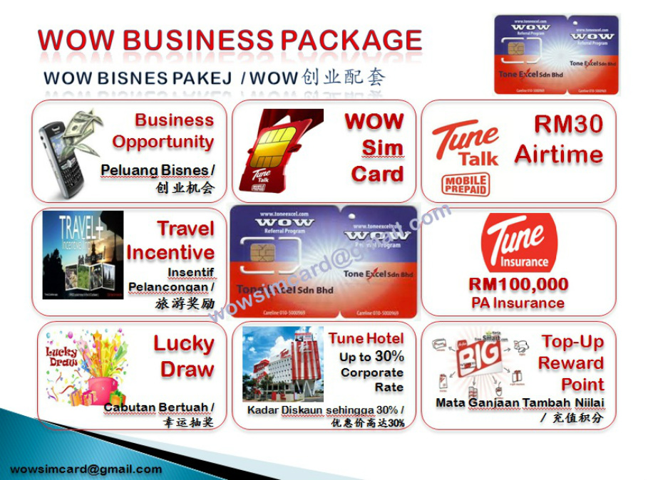 Business Package - WOW SIM CARD